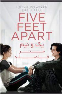 دانلود فیلم یک و نیم متر فاصله Five Feet Apart 2019