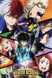 فصل دوم مدرسه قهرمانانه من My Hero Academia Season 2 2017