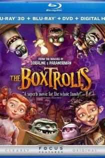 دانلود انیمیشن غولهای جعبهای The Boxtrolls 2014