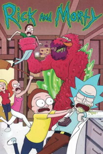 دانلود انیمیشن ریک و مورتی Rick and Morty 2015-2019