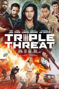 دانلود فیلم تهدید سه گانه Triple Threat 2019